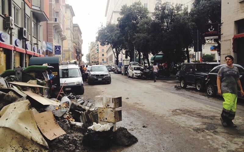 Alluvione a Genova 10 ottobre 2014